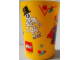 Gear No: tumbler3  Name: Food - Cup / Mug, Minifigure Pattern Plastic Tumbler