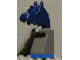 Gear No: vik037  Name: Viking Chess Piece Blue Knight - Portions may be Glued