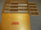 Gear No: wood12  Name: Wooden Storage Box with Plain Sliding Top and Red LEGO Logo (no Dogbone)