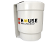 Gear No: 853709  Name: Food - Cup / Mug, LEGO House Upscaled