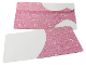 Gear No: Clikits307  Name: Letter Envelope, Clikits Pink Panel with Little Circles Pattern