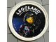Gear No: pin156  Name: Pin, Legoland Discovery Center Wyldstyle 2 Piece Badge