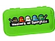 Gear No: 499256  Name: Minifigures Storage Case with Ninjago Masters of Spinjitzu Pattern