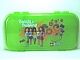 Gear No: 499346  Name: Minifigures Storage Case with Friends 'Beauty of Building' with Butterflies and Flowers Pattern, Trans-Bright Green