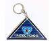 Gear No: 3949  Name: Insectoids Key Chain with Rubberized Flat Magnet Triangle
