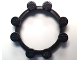 Gear No: bb1008  Name: Watch, Bezel Round Ring with 8 Studs