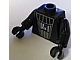 Gear No: bead030pb01  Name: Bead, Minifigure Style Torso with Darth Vader Pattern