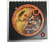 Gear No: clk13  Name: Clock Unit, Bionicle Tahu Nuva Pattern (Gear 4193353)