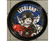 Gear No: pin188  Name: Pin, Legoland Spider Lady 2 Piece Badge