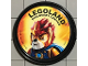 Gear No: pin211  Name: Pin, Legoland Discovery Center Laval 2 Piece Badge
