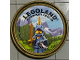 Gear No: pin136  Name: Pin, Legoland Discovery Center Unicorn Guy 2 Piece Badge