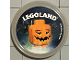 Gear No: pin151  Name: Pin, Legoland Pumpkin 2 Piece Badge