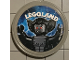 Gear No: pin203  Name: Pin, Legoland Vampire Bat 2 Piece Badge