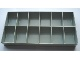 Gear No: Mx1938  Name: Modulex Storage Unit 12 Compartment Insert Tray (for MX1935)