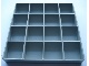 Gear No: MxM20Box16Tray  Name: Modulex Storage M20 Outer Box 16 Compartment Tray (Empty, fits MxM20BoxOuter)