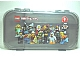Gear No: 499453  Name: Minifigures Storage Case with Collectible Minifigures Series  9 Pattern