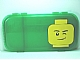 Gear No: 499236  Name: Minifigures Storage Case with Winking Minifigure Head Pattern