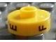 Gear No: bead001pb48  Name: Bead, Cylinder Short, Flat Edge with Black E F P Pattern