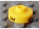 Gear No: bead001pb49  Name: Bead, Cylinder Short, Flat Edge with Black E 8 H Pattern