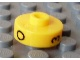 Gear No: bead001pb52  Name: Bead, Cylinder Short, Flat Edge with Black O 3 C Pattern