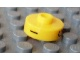 Gear No: bead001pb55  Name: Bead, Cylinder Short, Flat Edge with Black I G X Pattern