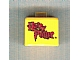 Gear No: bead004pb078  Name: Bead, Square with Red Harry Potter Logo Pattern (P3110)