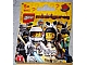 Gear No: displaysign008  Name: Display Sign Hanging, Collectible Minifigures Series 1 Bag