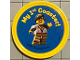 Gear No: pin157  Name: Pin, My 1st Coaster! 2 Piece Badge