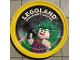 Gear No: pin192  Name: Pin, Legoland Discovery Center Joker 2 Piece Badge