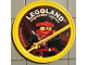 Gear No: pin214  Name: Pin, Legoland Discovery Center Ninjago Kai 2 Piece Badge