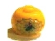Gear No: bead003pb021  Name: Bead, Globular with 1 Spider in Web Pattern