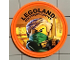 Gear No: Pin169  Name: Pin, Legoland Discovery Center Ninjago Lloyd 2 Piece Badge