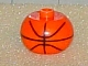 Gear No: bead003pb009a  Name: Bead, Globular with Ball Pattern, Basketball Parabolic Lines Black