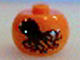Gear No: bead003pb028  Name: Bead, Globular with Octopus Pattern