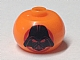 Gear No: bead003pb040  Name: Bead, Globular with SW Darth Vader Mask in Red Circle Pattern