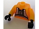 Gear No: bead030pb02  Name: Bead, Minifigure Style Torso with Luke Skywalker (Pilot) Pattern