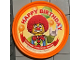 Gear No: pin153  Name: Pin, Legoland Discovery Center Happy Birthday 2 Piece Badge