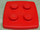 Gear No: 2769  Name: Storage Bucket FreeStyle Lid Small, 'LEGO' on Studs