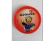 Gear No: Pin242  Name: Pin, Legoland Race Car Driver 2 Piece Badge