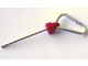 Gear No: bead027c01  Name: Bead, Pen Shaft with Carabiner Clip