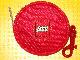 Gear No: coinpurse01  Name: Coin Purse, Round with Lego Logo, Zippered, with Clip
