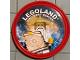 Gear No: pin184  Name: Pin, Legoland Discovery Center Ninjago Master Wu 2 Piece Badge