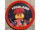 Gear No: pin197  Name: Pin, Legoland Emmet 2 Piece Badge