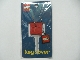 Gear No: skc02  Name: 2 x 2 Brick - Soft Key Cover Key Chain (Yellow or Red)