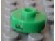 Gear No: bead001pb32  Name: Bead, Cylinder Short, Flat Edge with Black F 9 J Pattern