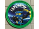 Gear No: pin146  Name: Pin, Legoland Discovery Center Ninjago Jay 2 Piece Badge