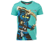 Gear No: tony623  Name: T-Shirt, Ninjago 'MASTER OF LIGHTNING' 'NAME: JAY' Boys (Tony 623)
