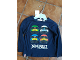 Gear No: 0650988001  Name: T-Shirt, Ninjago Masters of Spinjitzu Long Sleeve, Lloyd, Zane, Jay and Kai Heads
