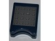 Gear No: DSgamecase2  Name: Game Case for Nintendo DS Game with Dark Bluish Gray Studs