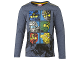 Gear No: tony617  Name: T-Shirt, Ninjago Boys Long Sleeve (Tony 617)